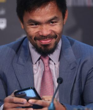 Clean career: Manny Pacquiao.