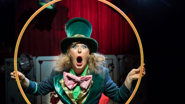 Mad Hatter's Tea Party at Canberra Theatre Centre. The Canberra Times, Friday 30 June 2017