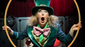 Eloise Green as the Mad Hatter.