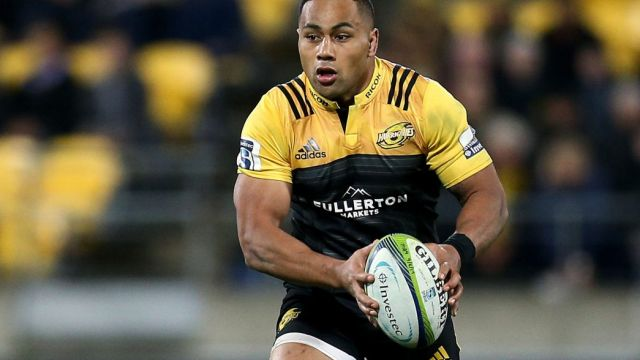 Cross-code star: Ngani Laumape of the Hurricanes.