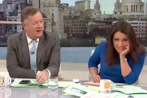 Susanna Reid shuts down Piers Morgan's rant on Good Morning Britain.