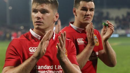 Playmaking duo: Owen Farrell and Jonny Sexton.