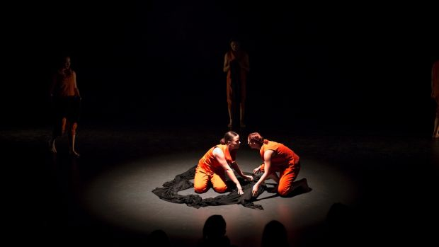 The Poisoned Sea, by Jack Ziesing, is a way for the young dancers to build consciousness of, and examine how to take ...