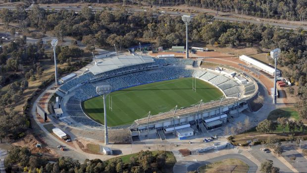 Will the ACT government bulldoze Canberra Stadium?