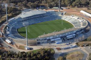 Could Canberra Stadium host rugby World Cup games, or is it too old?