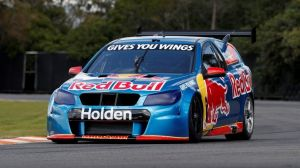 Holden has tested its next-generation V6 twin-turbo racing engine in the Red Bull Racing Sandman promo vehicle.
