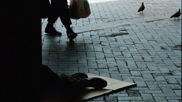 More people are sleeping on the streets in Adelaide as a result of the state's declining manufacturing industry and ...