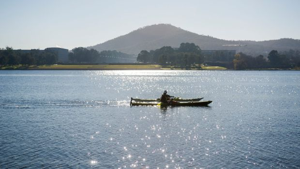 After a frosty start, the sun was out and shining over Canberra by Saturday afternoon.