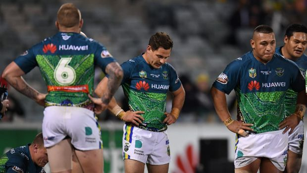 """Queensland legend Billy Moore said the Green Machine has """"lacked the control and composure""""."""