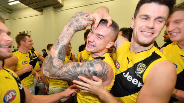 Richmond's yellow clash jumper could be their grand final strip, if they make it.