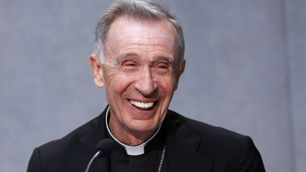 New man: Monsignor Luis Ladaria Ferrer is, like the Pope, a member of the Jesuit order.