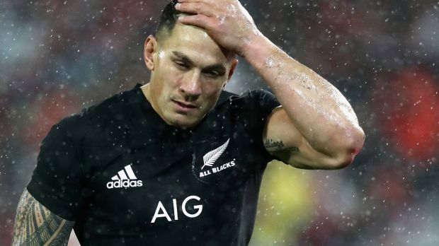 Sonny Bill Williams to miss first Bledisloe Cup clash against Wallabies