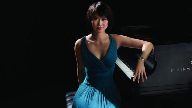 Chinese pianist Yuja Wang has shown considerable growth in artistic maturity.
