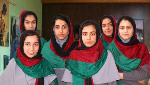 Six Afghan schoolgirls banned from entering United States for robotics competition
