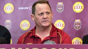 In the mix: Kevin Walters has coached Queensland to two consecutive Origin series victories.