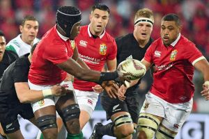 Farcical end: The Lions tour of New Zealand was not without controversy.