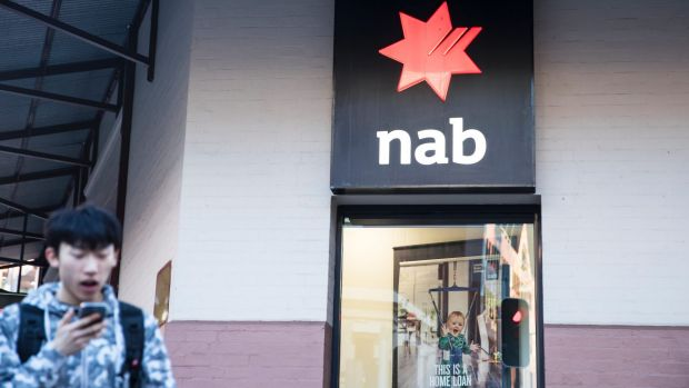 """NAB said it was investigating some """"issues"""" relating to anti-money laundering laws."""