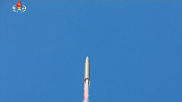 North Korea fires three missiles into sea