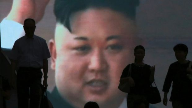 """Kim Jong-un does not """"whimper in terror at the thought of being put in his place by Trump""""."""