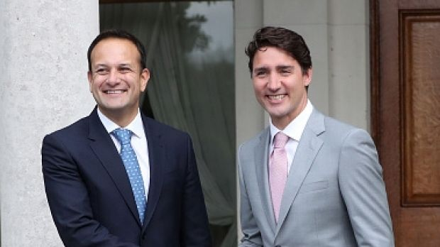 Justin Trudeau and Irish PM Leo Varadkar solidify bromance with jog