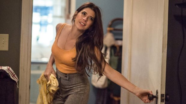 More to work with: Marisa Tomei as Spider-Man's guardian, Aunt May.