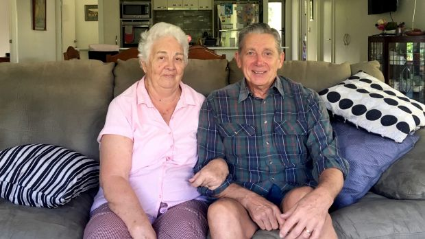 Ray and Sheila Thurlow remember Fortitude Valley as a vibrant shopping precinct.