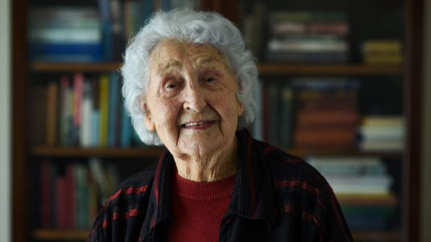 Former code-breaker Joan Fairbridge, 97, is finally free to talk about her war record.