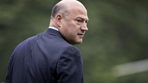 Investors were rattled over rumours regarding Economic Adviser Gary Cohn's future