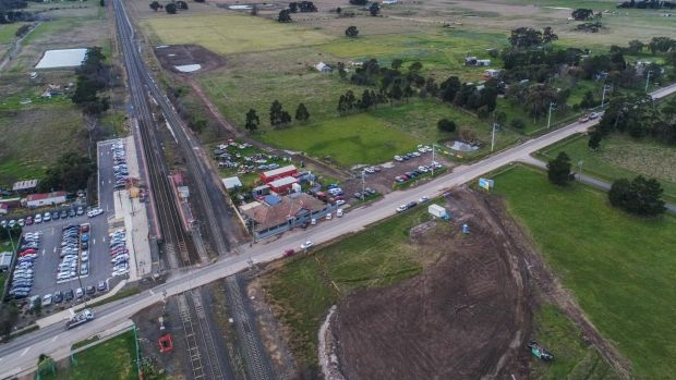 The town of Donnybrook sits along the corridor for a future high speed rail line between Melbourne and Sydney.