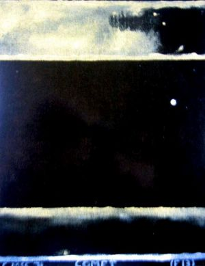 The stolen painting Comet, by Colin John McCahon.