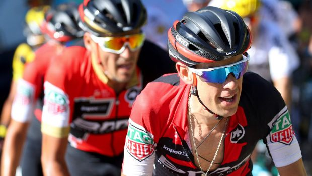 Fabio Aru claimed his maiden Tour de France win in Paris