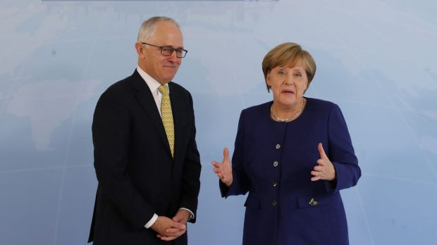 German Chancellor Angela Merkel, and perhaps Australia's Prime Minister Malcolm Turnbull, will push for open markets and ...