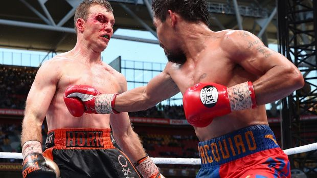 Bloody bout Jeff Horn and Manny Pacquiao's fight was as captivating as it was savage