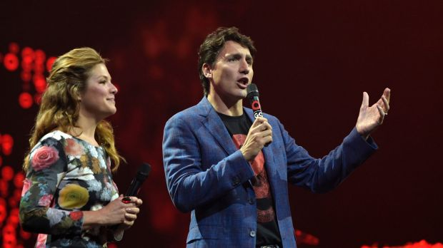 Justin Trudeau makes a powerful statement on gender equality at Global Citizen festival