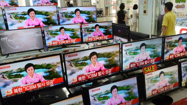 North Korea Erupts in War of Words