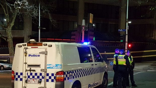 Couple shot by police at Melbourne swingers ball