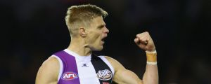 Nick Riewoldt and his Saints are aiming to beat the Bombers four times in a row for the first time since 1971.