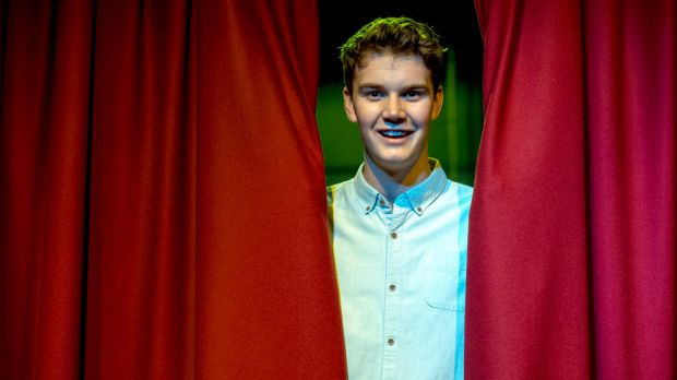 Cabaret meets football: Maverick Newman, brother of Swans player Nic Newman, is staging a one-man show at the Butterfly ...