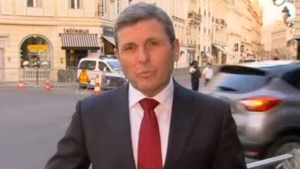 ABC journalist Chris Uhlmann delivered a scathing assessment of Donald Trump's presidency.