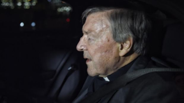 George Pell Arrives Back In Australia