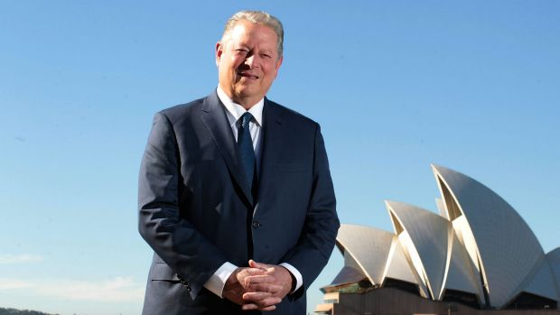 Former US vice-president Al Gore  has been in Australia to launch An Inconvenient Sequel.