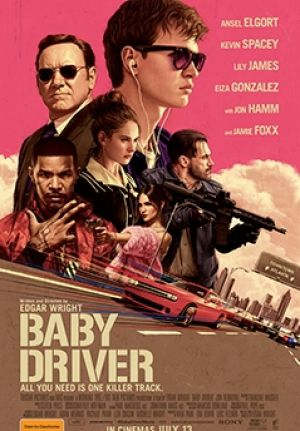 Poster for the film Baby Driver.
