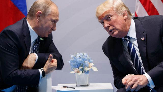 Donald Trump and Vladimir Putin had a private meeting at last week's G20. Investigations of the US President's campaign ...
