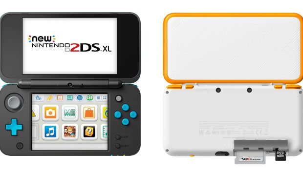 Coming in black and blue or white and orange, the New 2DS XL is both an upgrade and cut-back version of previous devices.
