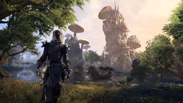 Morrowind takes players back to the weird, mushroom-filled Vvardenfell.