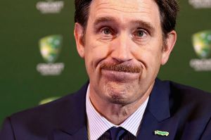 Cricket Australia CEO James Sutherland.