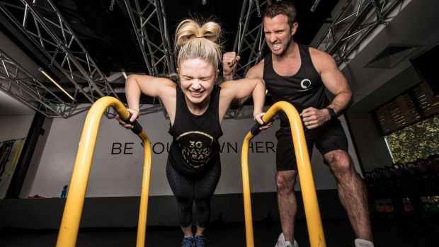 Roxy Jacenko's personal trainer, Ben Lucas, scouted by Apple for tech launch