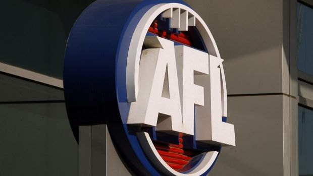 Former AFL officials Simon Lethlean  and Richard Simkiss, who quit over inappropriate relationships with younger women, ...