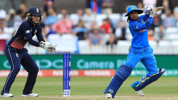 Team India skipper Mithali Raj on top of the world