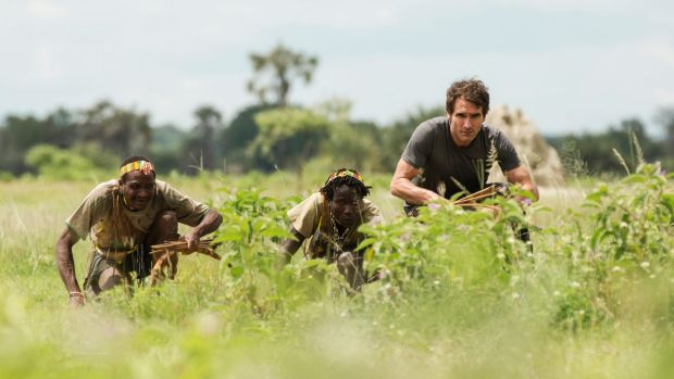 Todd Sampson (right)  spent time with the Hazda tribe in Tanzania. A study of the tribe found that over 20 days, there ...